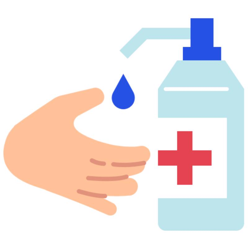 dezinfectant maini